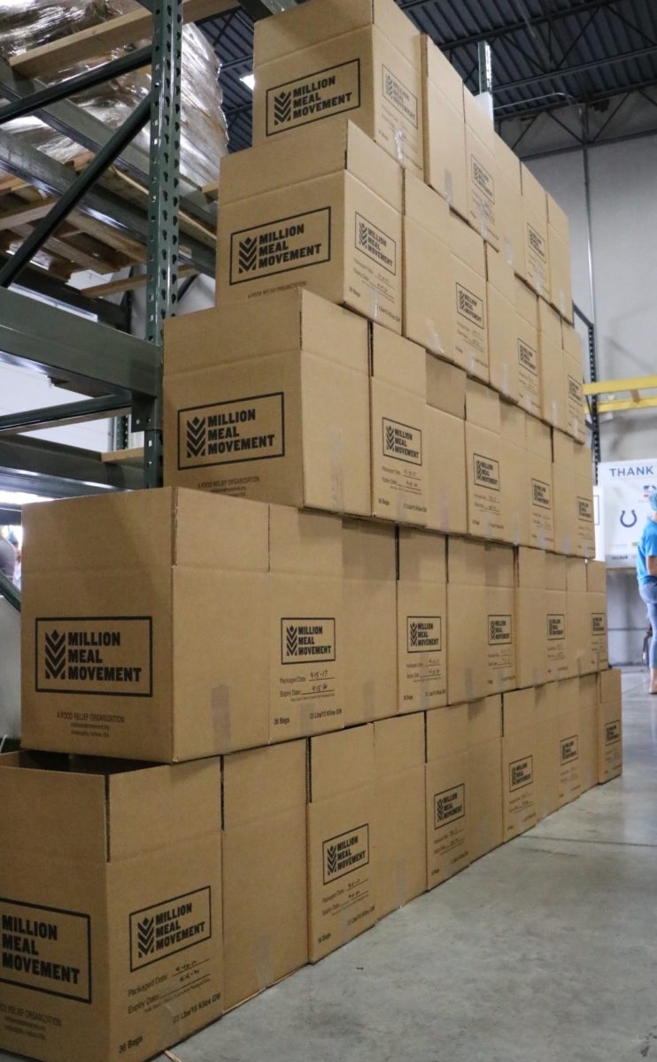 Capitol City Container donates boxes to Million Meal Movement