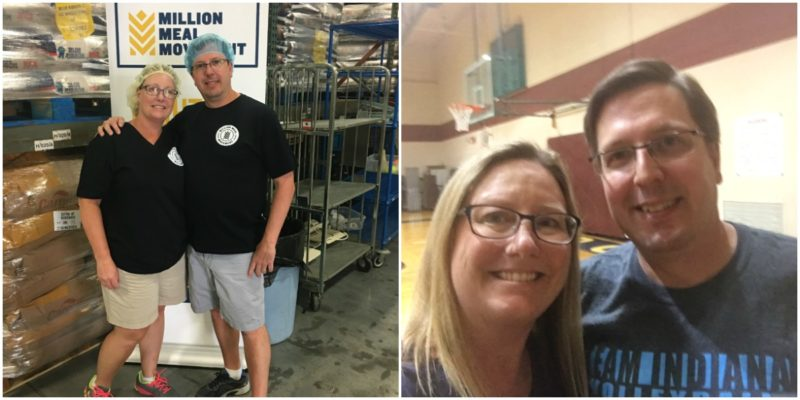 Million Meal Movement Volunteers of the Month William and Amy Spoerner
