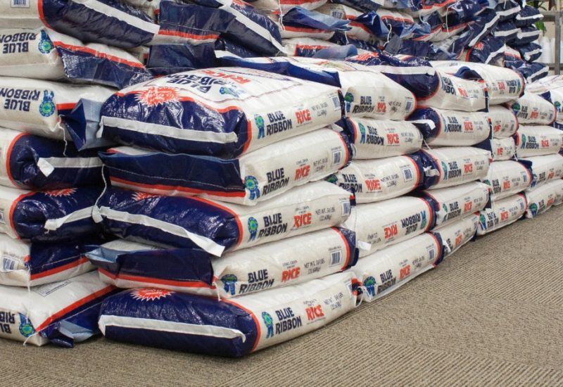 Support Million Meal Movement and donate a bag of rice on Giving Tuesday