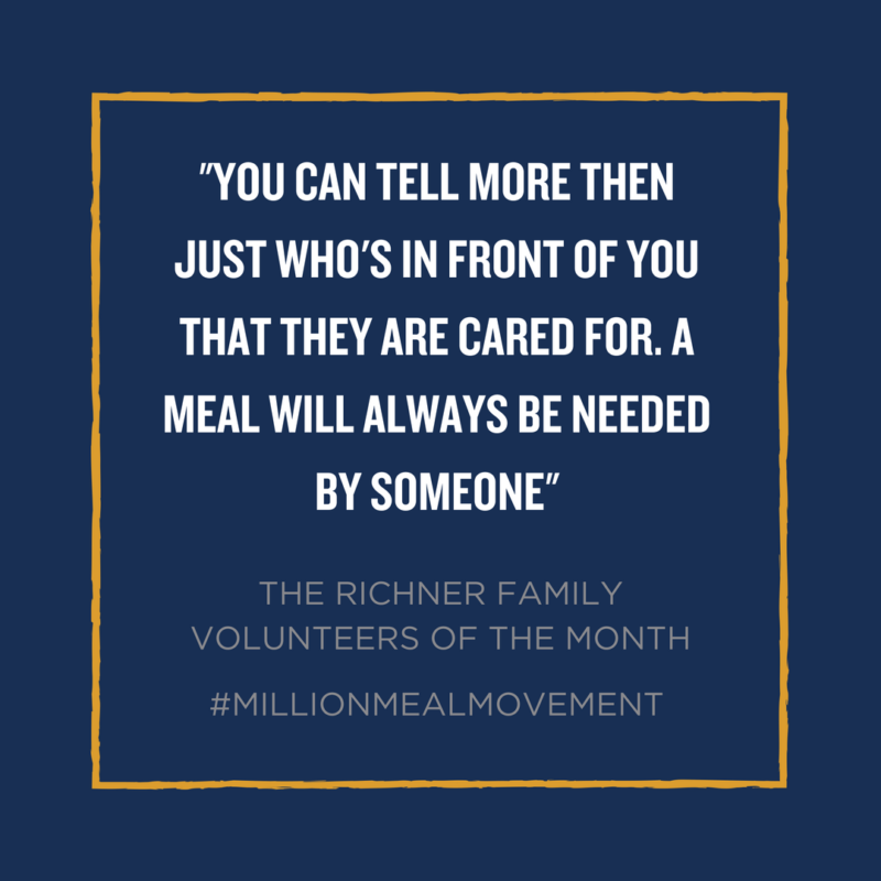 Volunteer Quote Million Meal Movement